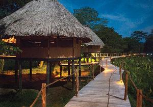 Belize rainforest eco-lodge