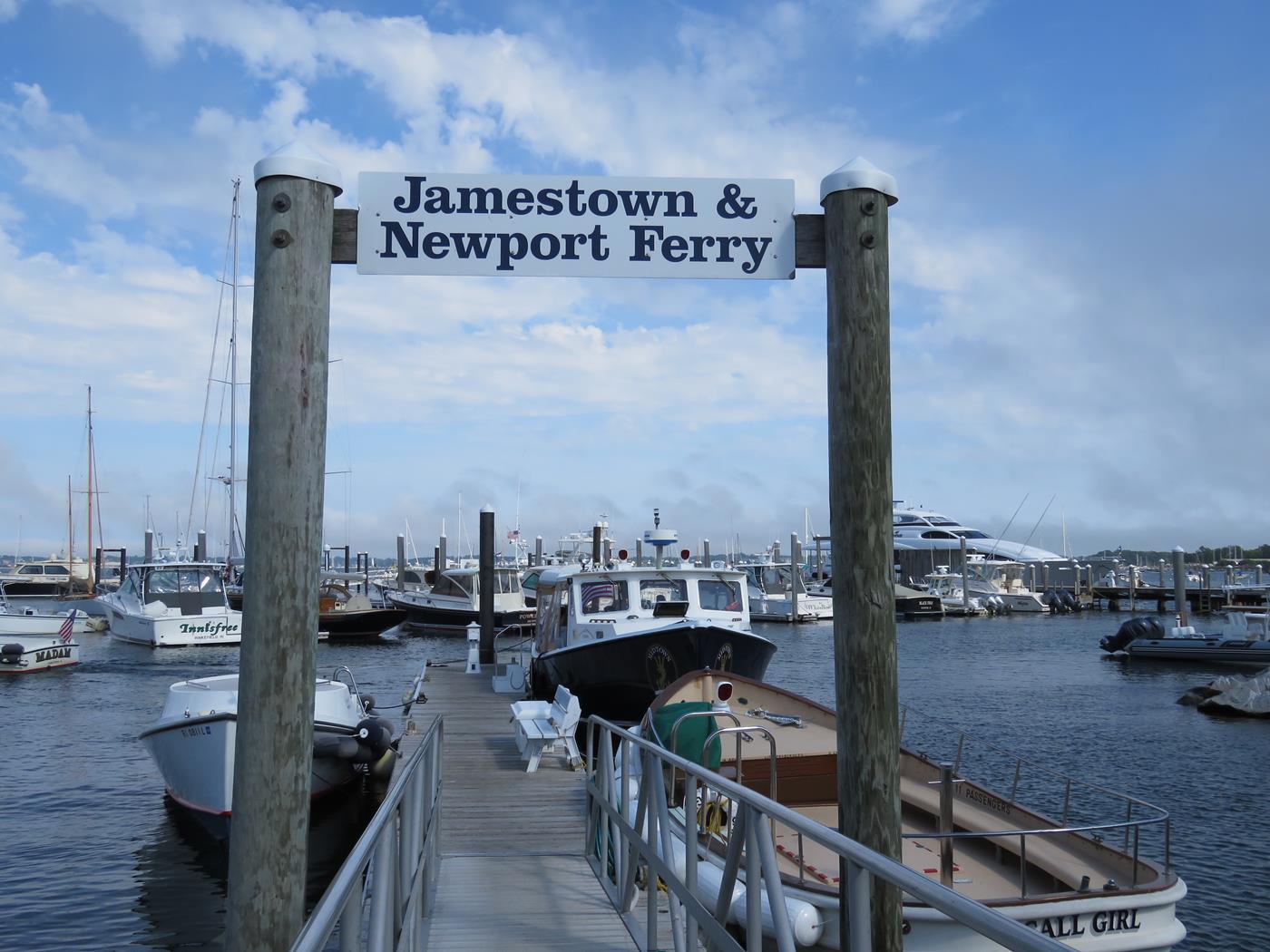 Newport jamestown ri bike tour
