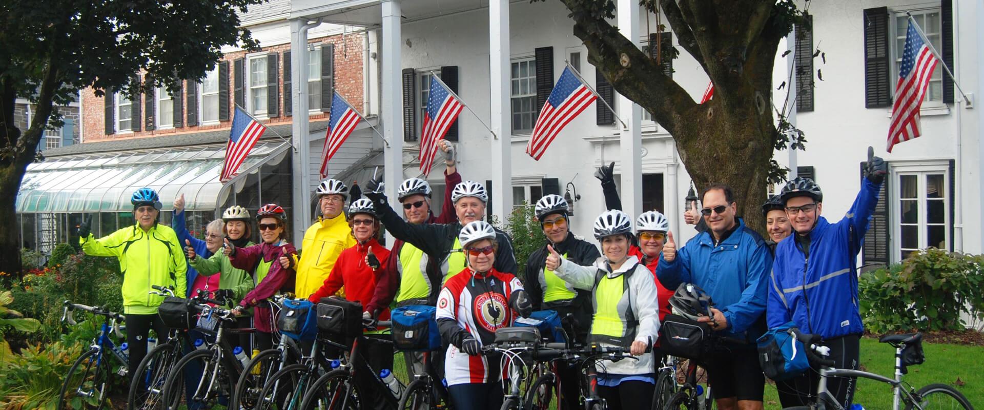 Bike Tour in New York's Hudson Valley | Wine Bike Tour