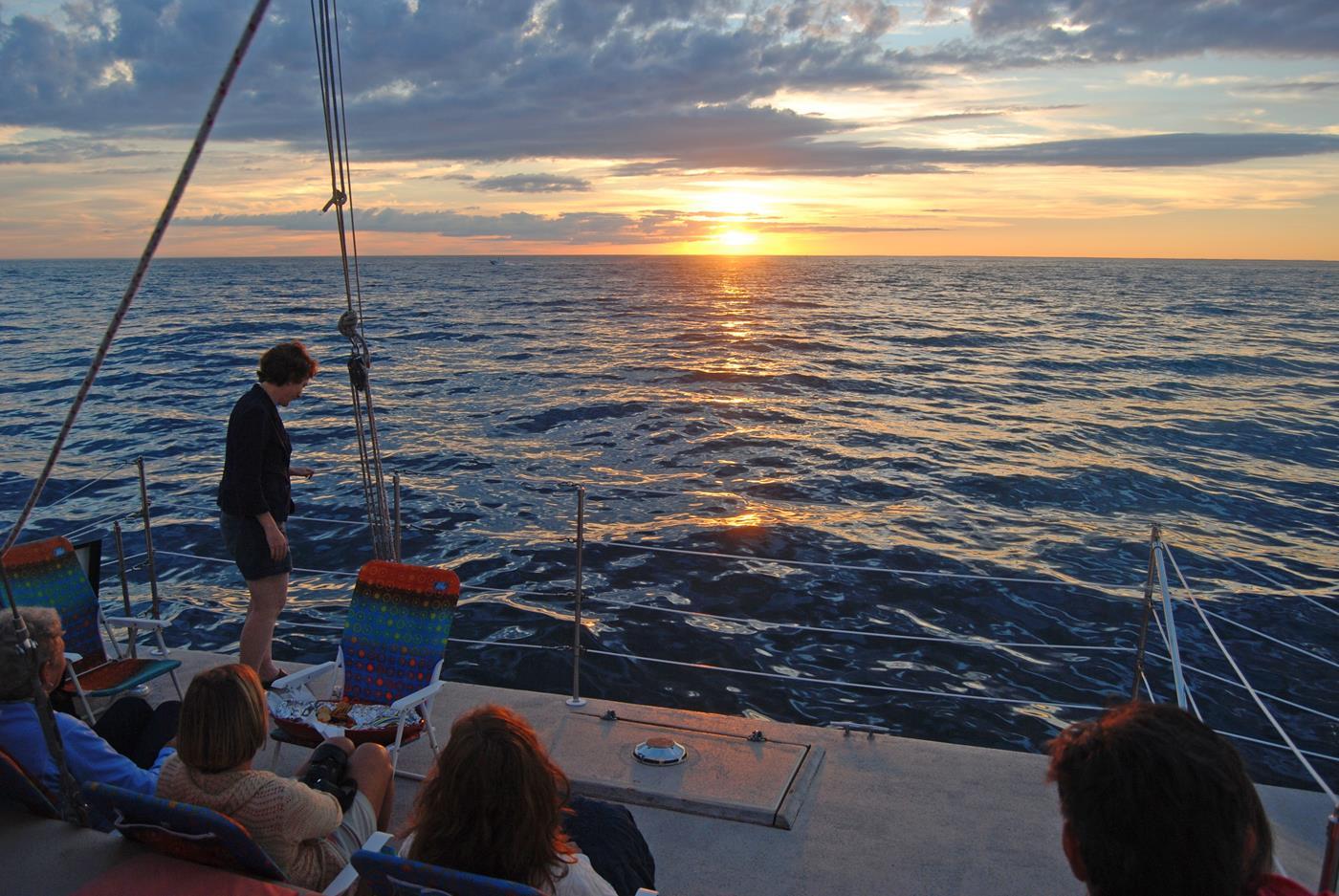 ri vacation bike tour sunset sail great freedom adventures