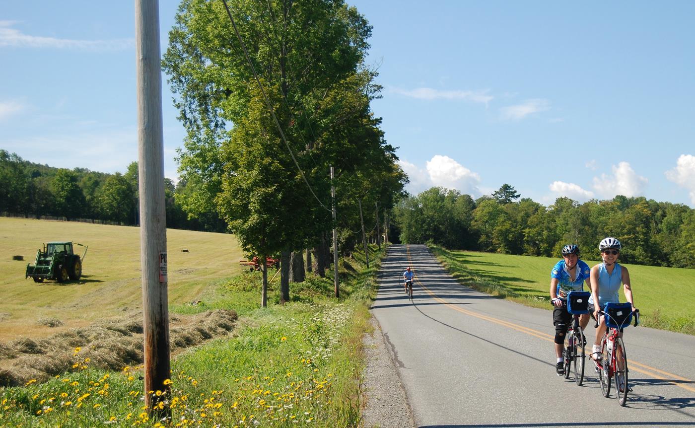 vermont bike trip