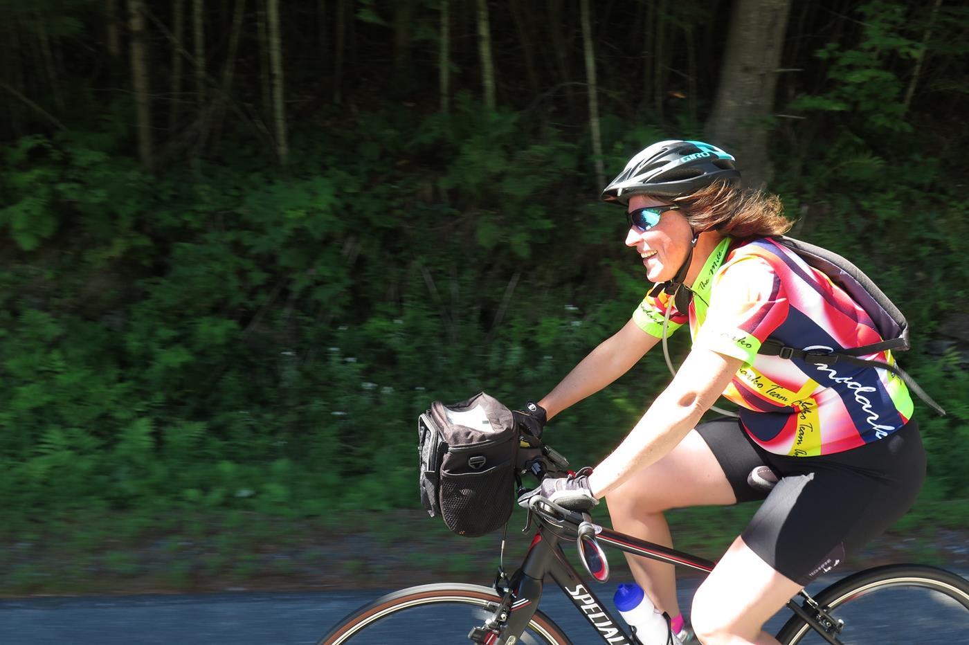 vermont bike trips short