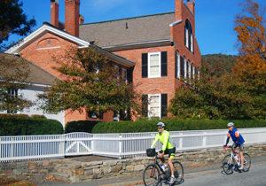 Biking in Woodstock Vermont